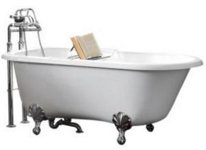Esta banheira com apoio para livros está  R$ 8799,00.