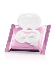 Lenços umidecidos 3 em  1: refresca a pele, esfolia e acelera a renovação celular - 5,90 €
